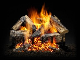 Gas Logs At The Place