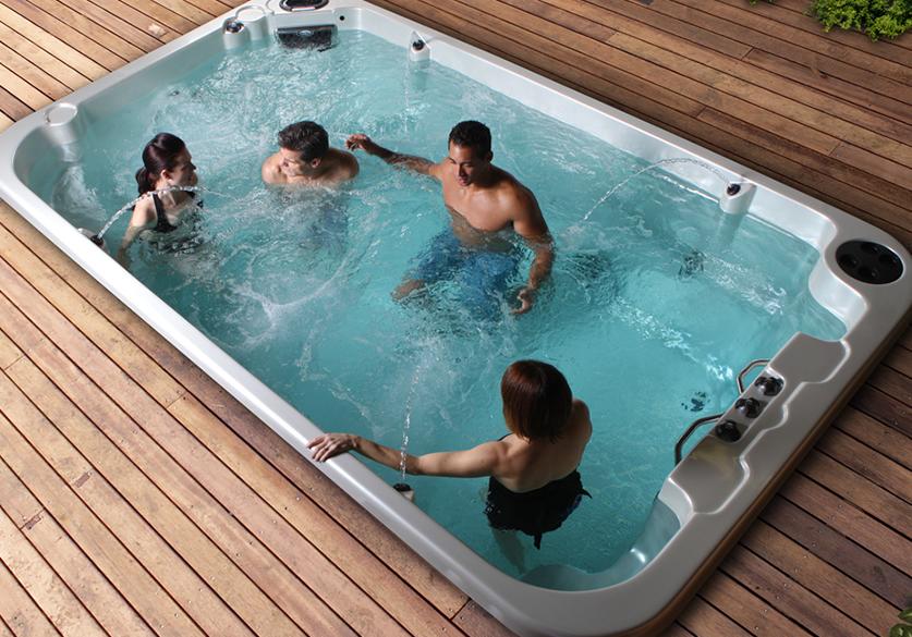 coast wellness swim spa 1 the place. Black Bedroom Furniture Sets. Home Design Ideas