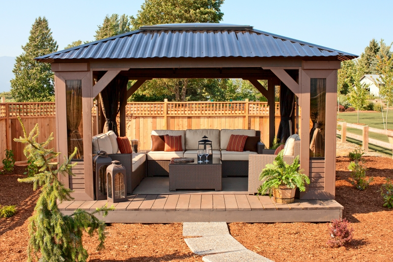 Visscher specialty products at the place for Plans for gazebo with fireplace