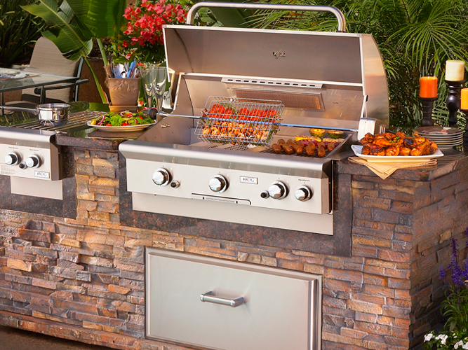 American Outdoor Grills At The Place