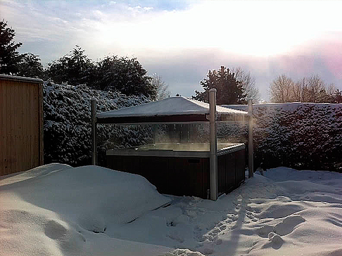 Covana Automatic Cover And Gazebo At The Place
