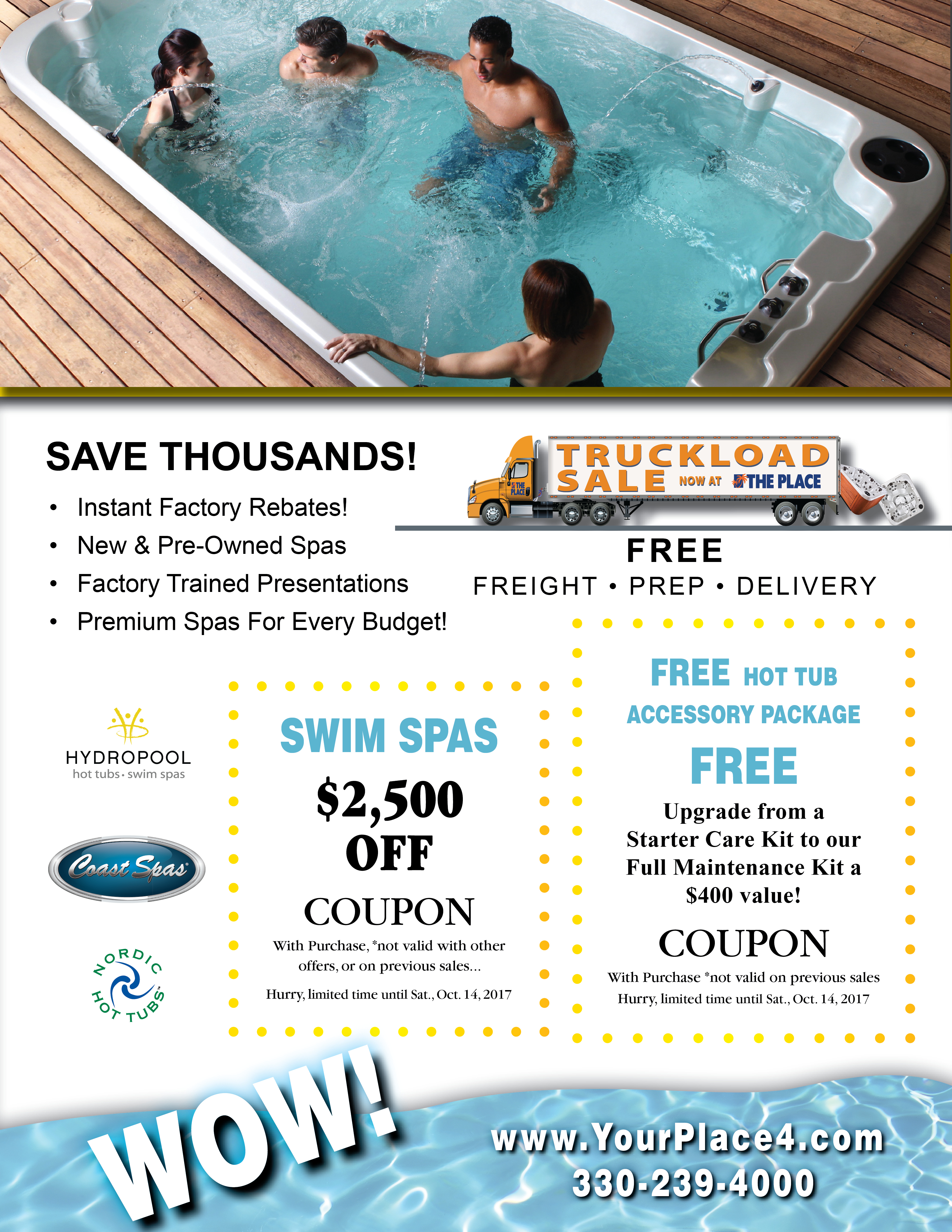 Truckload Sale! Coupons - The Place