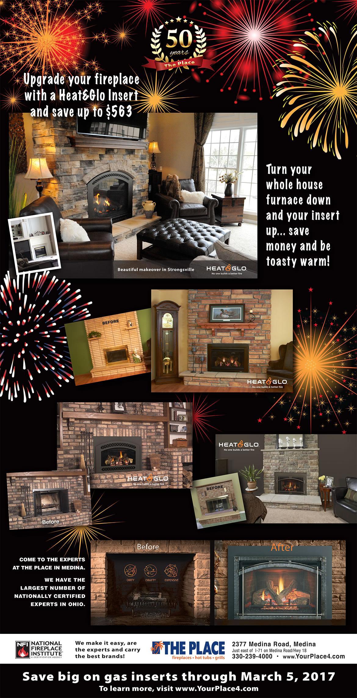 50th-Anniversary-Heat&Glo-Fireplace-Insert-Sale