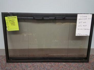 Prefab Glass Door - $350