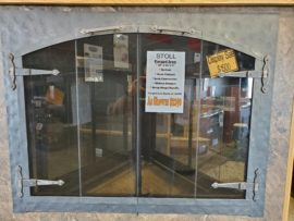 Stoll Forged Iron Glass Door - $1500
