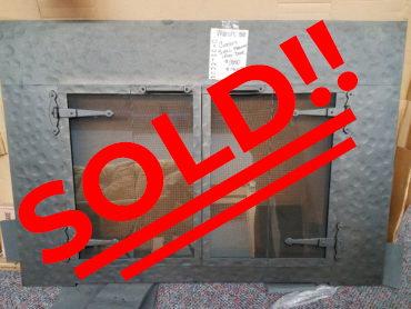 Stoll Custom Fireplace Glass Door - $1300