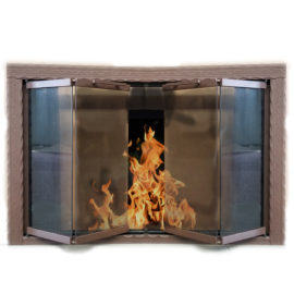 Thermo-Rite Chateau Fireplace Door - $1575